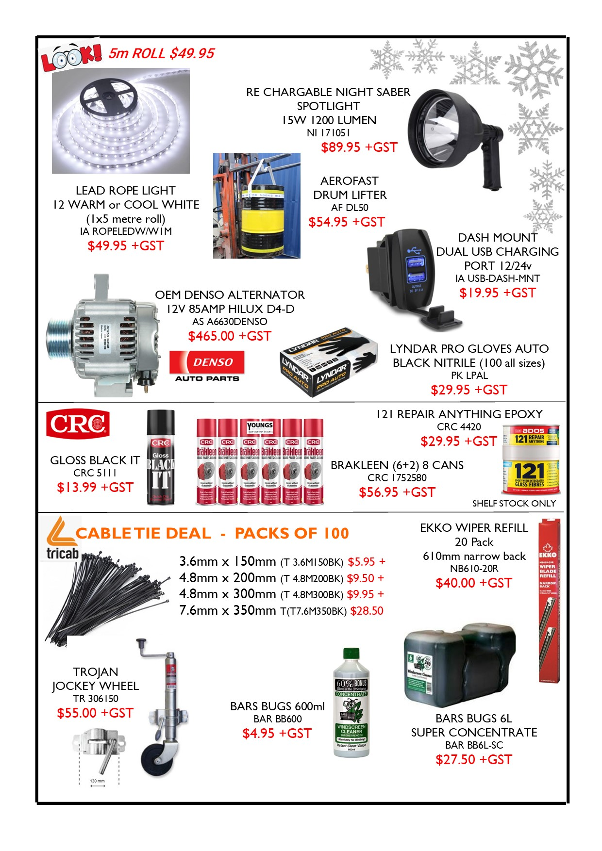 Youngs Automotive Ltd Nelson Nz Auto Car Parts Accessories In Fuse Box Latest Flyer Page 2