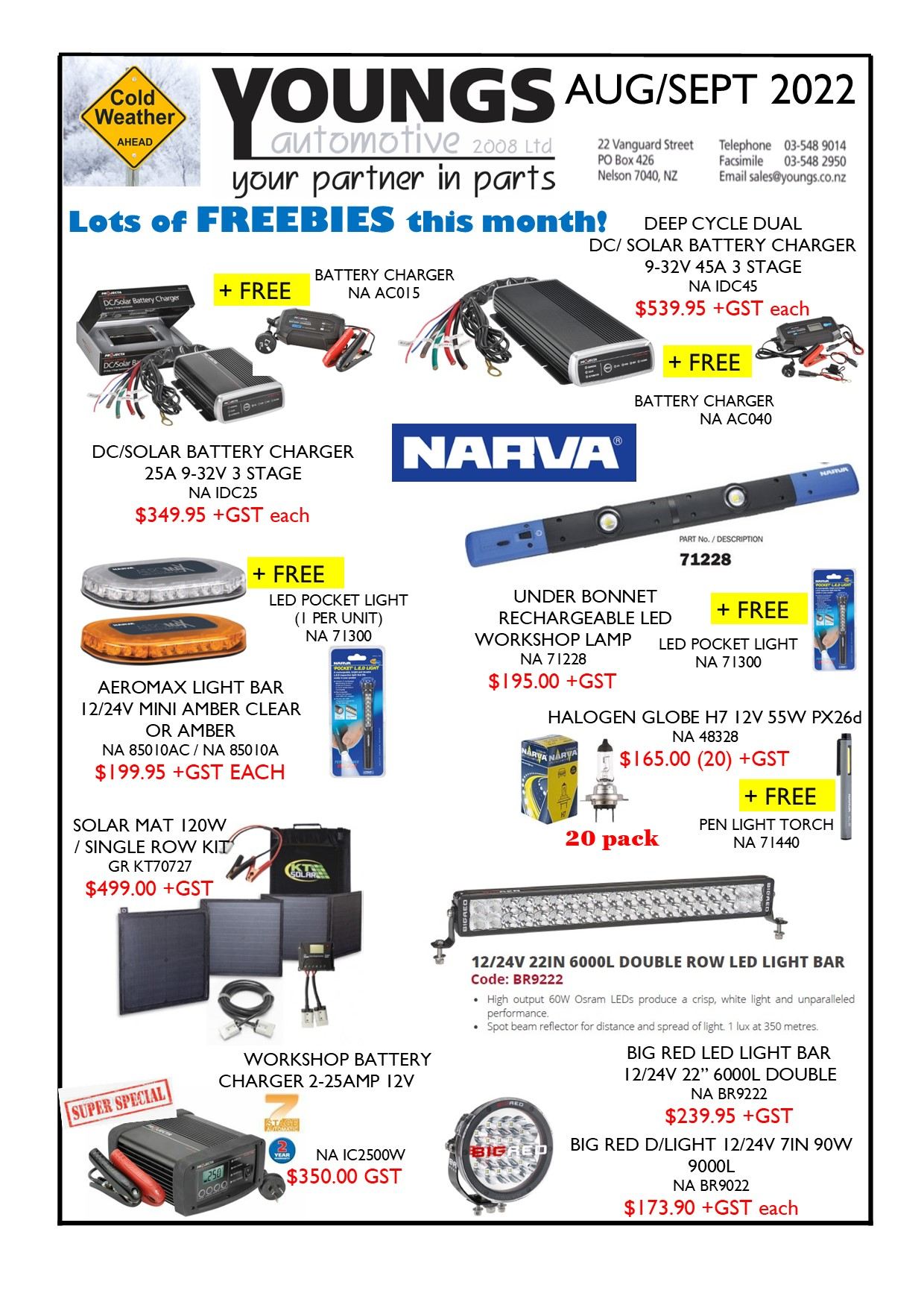 Youngs Automotive latest flyer - page 1